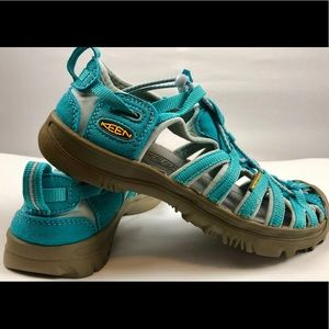 KEEN water sport Sandals youth size 2 blue